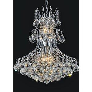 Princess 8-Light Crystal Chandelier