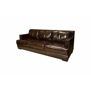 Emerson Leather Sofa by Elements Fine Home Furnishings