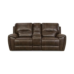 Heinen Reclining Loveseat by Alcott Hill