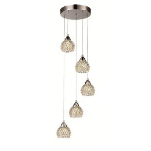 Drexil 5-Light Pendant by Orren Ellis
