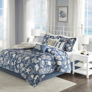 Highland Dunes Beacon Falls Cotton 7 Piece Comforter Set