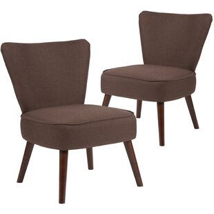 Reviews MacArthur Fabric Side Chair (Set of 2) by Ebern Designs Reviews (2019) & Buyer's Guide