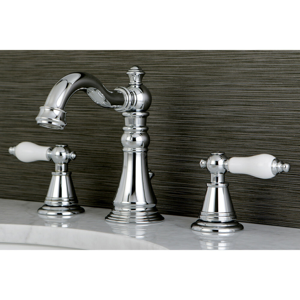 Beau Kingston Brass English Classic Widespread Bathroom Faucet ...