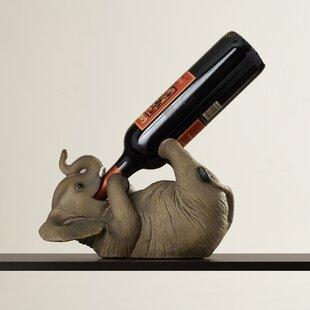 World Menagerie Zelaya 1 Bottle Tabletop Wine Rack