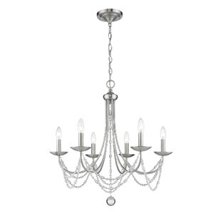 Reynal 6-Light Candle Style Chandelier