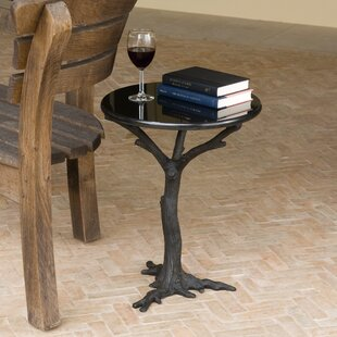 Compare prices Faux Bois End Table by Global Views