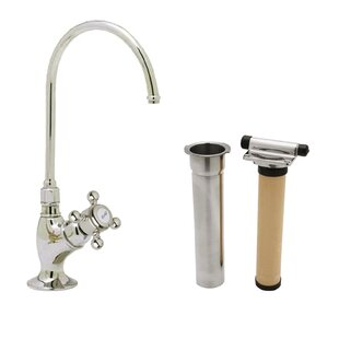 Rohl Country Single Handle Kitchen Faucet with Water Filter