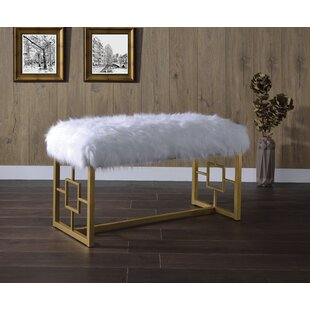 Ruthie Upholstered Bench by Everly Quinn