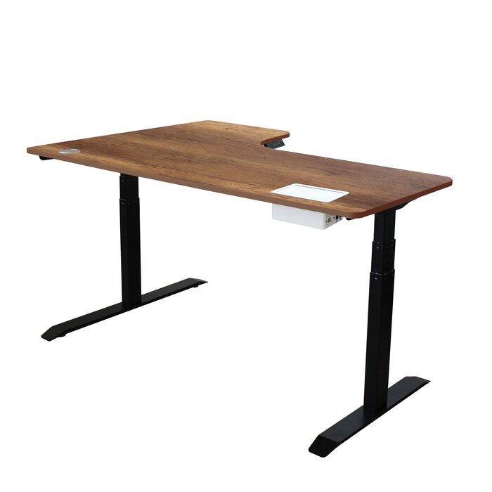 sports shoes be880 16574 Herrman Adjustable L-Shape Standing Desk