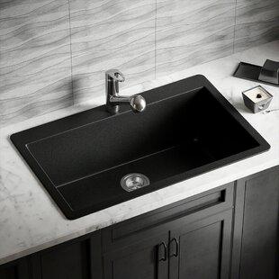 Black Granite Composite Kitchen Sinks Youll Love Wayfair