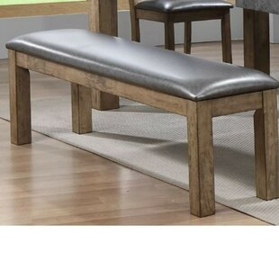 17 Stories Liska Faux Leather Upholstered Bench