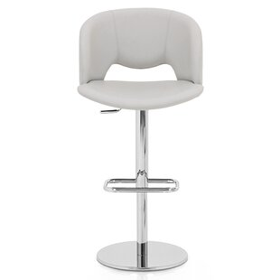 Fancy Adjustable Height Swivel Bar Stool ..