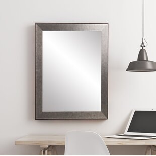 Williston Forge Meleze Tarnished Accent Mirror