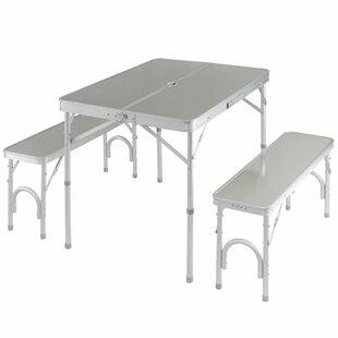 Freeport Park Segura Portable Folding Picnic Table Set
