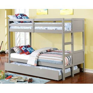 Santucci Full Over Full Bunk Bed by Harriet Bee