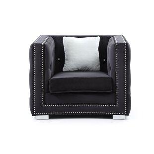 Smollin Armchair Chair by Everly Quinn