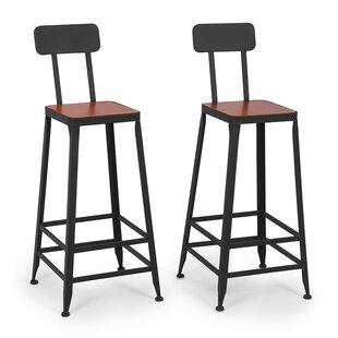 Shop For 29.5 Counter Height Bar Stool (Set of 2) by Belleze Reviews (2019) & Buyer's Guide