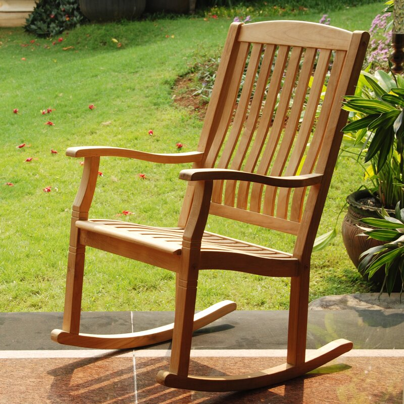 Cynthia Porch Teak Rocking Chair