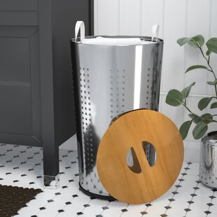 Purchase Circle Laundry Hamper ByWilla Arlo Interiors