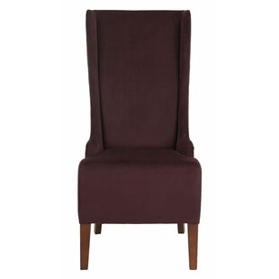 Crelake Cotton Side Chair by Alcott Hill