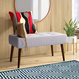 Conrad Upholstered Bench by George Oliver Coupon