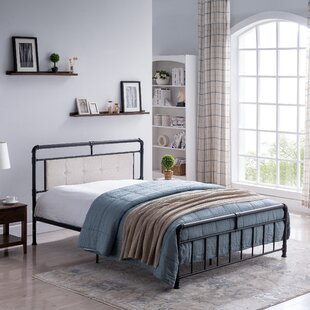 Suzuki Queen Upholstered Panel Bed by Gracie Oaks