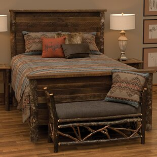 Fireside Lodge Crockett Panel Bed