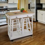 Coolidge 2 Piece Breakfast Kitchen Cart Set by Gracie Oaks
