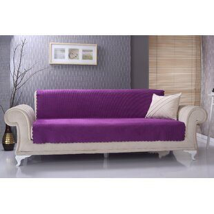 Diamond Anti-Slip Pet Furniture Protector Box T-Cushion Sofa Slipcover by Red Barrel Studio Discount