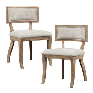 Marie Side Upholstered Dining Chair (Set of 2) Madison Park Signature