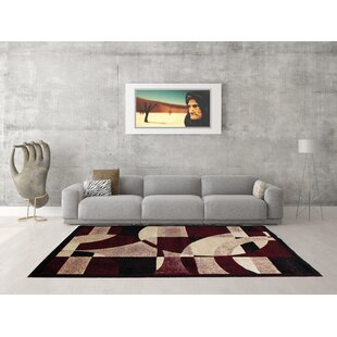 Savings Burgundy/off-white Area Rug By Rug Tycoon