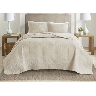 Meansville 3 Piece Reversible Bedspread Set