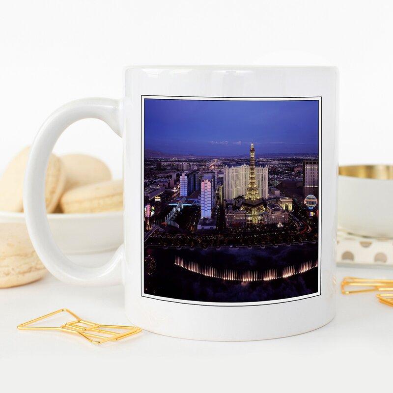 Las Vegas Strip Skyline Nevada Usa Coffee Mug