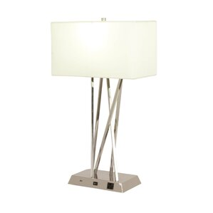 Good Table Lamp With USB Port Youu0027ll Love   Wayfair Pictures