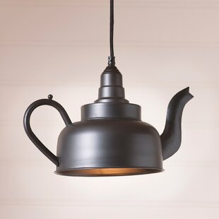 Gracie Oaks Kellogg 1-Light Novelty Pendant
