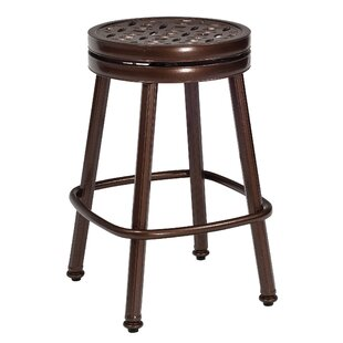 Woodard Casa Round 27'' Patio Bar Stool
