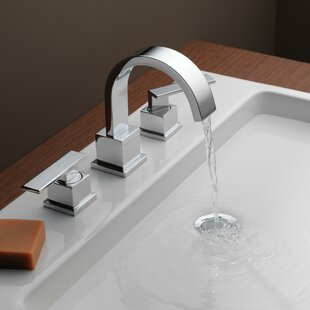 Coupon Vero Two Handle Widespread Bathroom Faucet with Drain Assembly By Delta