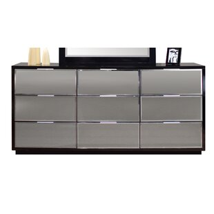 Mera 9 Drawer Standard Dresser/Chest