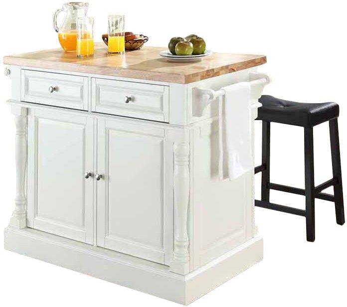 Haslingden Kitchen Island With Butcher Block Top : Kitchen Island Details - Kitchen Design Ideas