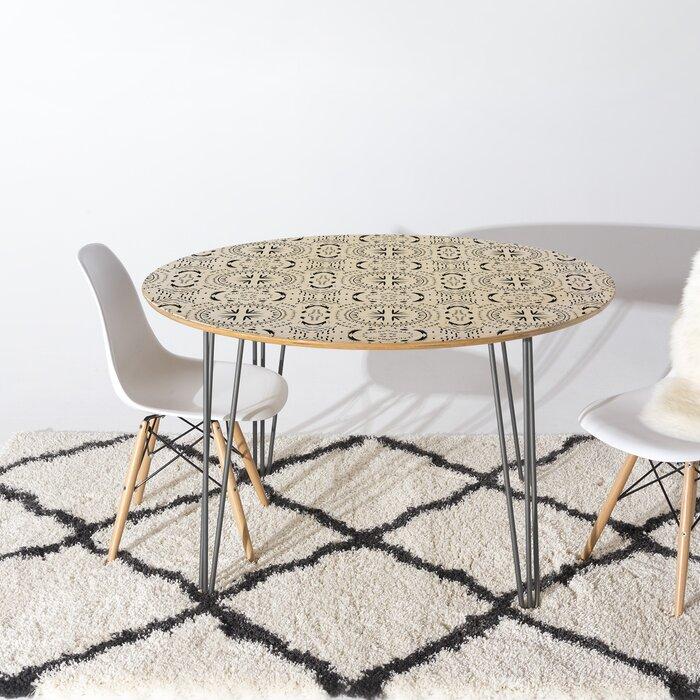 Cool Holli Zollinger Mandala Tile Dining Table Creativecarmelina Interior Chair Design Creativecarmelinacom