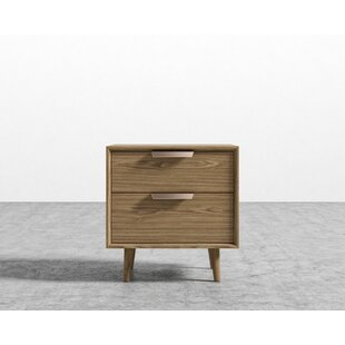 Foundry Select Jake 2 Drawer Night Stand