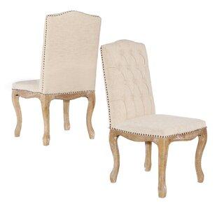 One Allium Way Albert Brook Chair (Set of 2)
