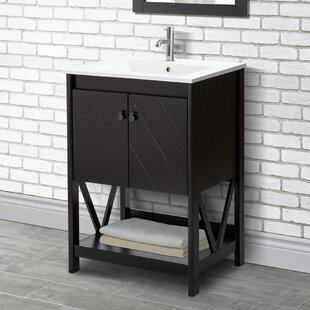 24 Single Bathroom Vanity Set