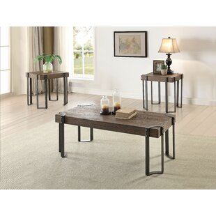 Myrtle 3 Piece Coffee Table Set