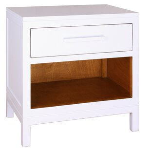 Affordable Price Cecelia 1 Drawer Nightstand by Porthos Home