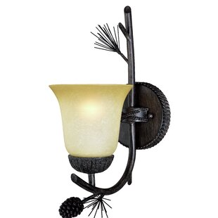 Stricklin 1-Light Bath Sconce by Millwood Pines