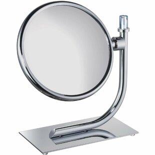 Red Barrel Studio Evenson Round Makeup/Shaving Mirror