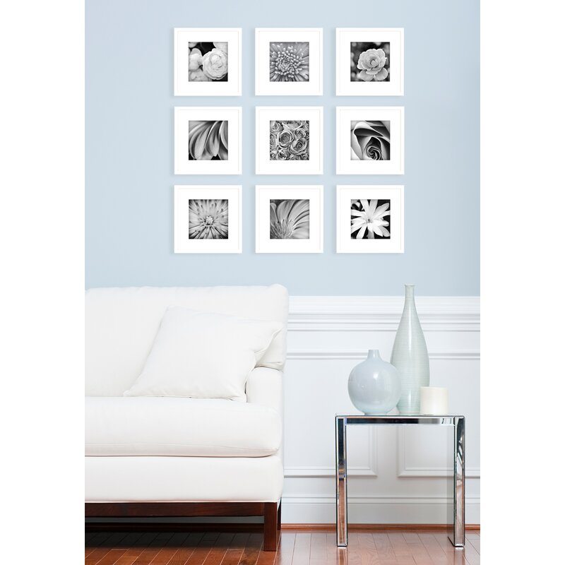 NielsenBainbridge Gallery Perfect 9 Piece Picture Frame Set ...