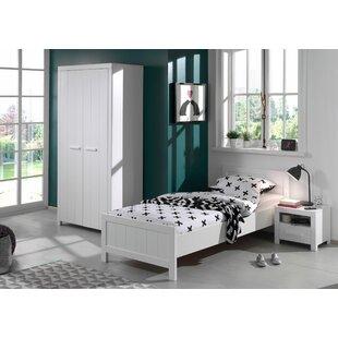 Eddy 3 Piece European Single Bedroom Set By Isabelle & Max