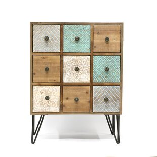 Crabb Wood 9 Drawers Accent Ch..